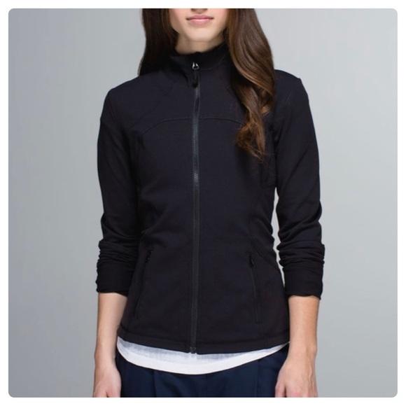 lululemon athletica Jackets & Blazers - Lululemon Forme Jacket Black